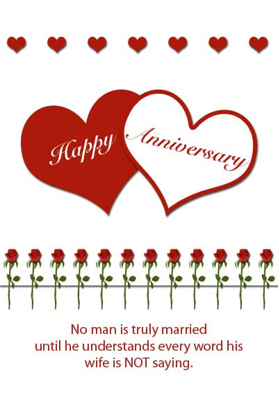 Free Printable Roses Anniversary Cards – Anniversary Cards Printable