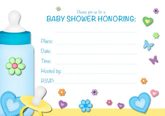 Free Printable Baby Shower Invitations For Boys - www.proteckmachinery.com