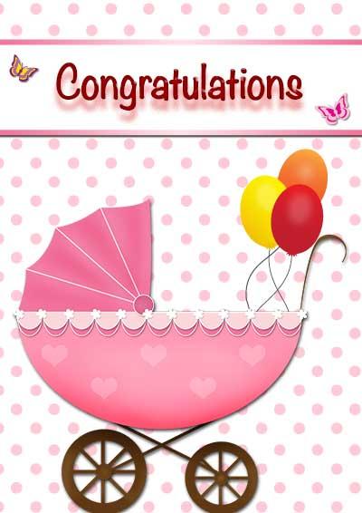 free baby girl cards printable printable baby girl card