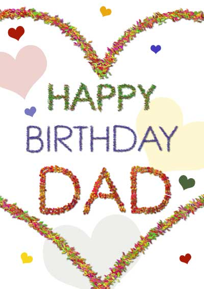 Insane image in printable birthday card for dad