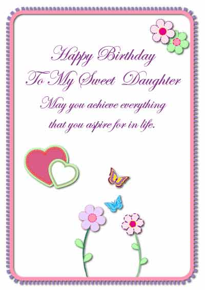 Free Printable Birthday Cards For Your Son Or Daughter