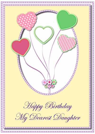 free printable birthday cards for your son or daughter, Birthday card