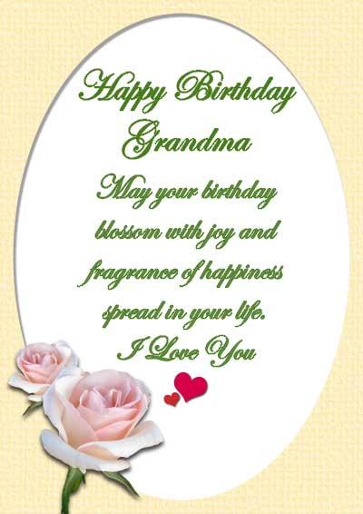 Printable Birthday Cards For Grandma To Color