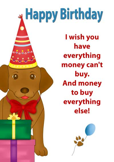 free printable pet birthday cards, Birthday card