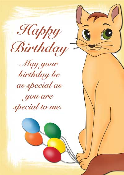 Free Printable Pet Birthday Cards