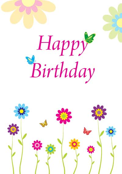 Birthday Greeting Cards Printable | wblqual.com