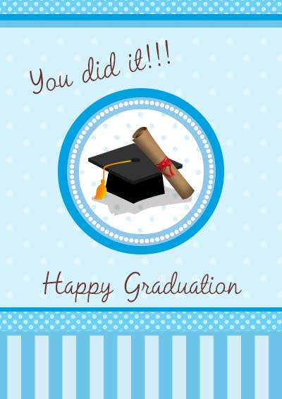 Exceptional image for free graduation cards printable