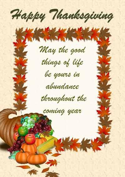 Free Printable Thanksgiving Cards