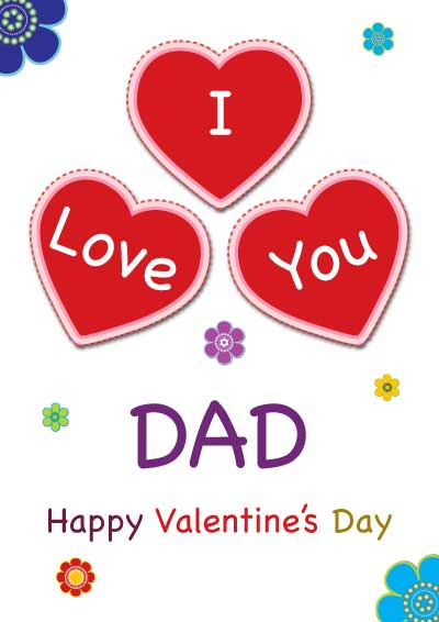 Printable Valentine Cards for Mom and Dad – Valentine Cards for Dad