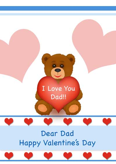 ... Valentineu0027s Day Card For Our Dad. Click