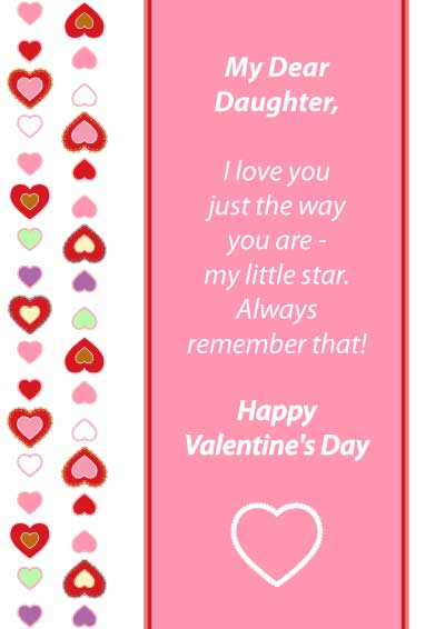 Funny Valentine Quotes For Daughter : Daughter Quotes For Valentines Day  Quotesgram