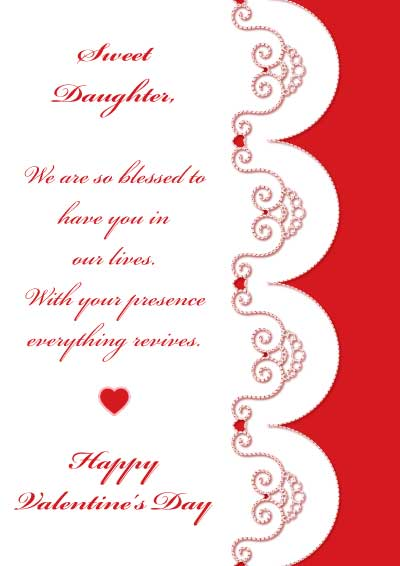 Valentines Day Quotes For Daughter From Dad
