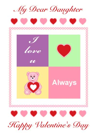 quote for my daughter on valentines day: happy valentine s day, Ideas