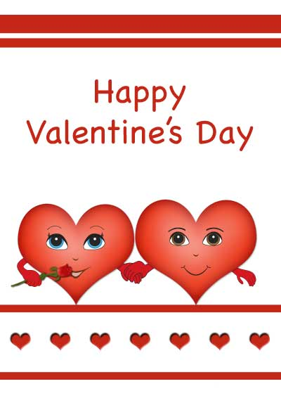 click - Valentine Day Cards For Kids