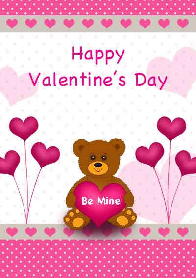 400 x 566 · 20 kB · jpeg, Free Printable Valentine's Day Cards