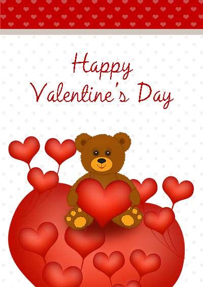 Printable valentine cards click m4hsunfo