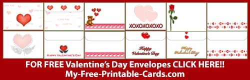 Valentines Envelopes