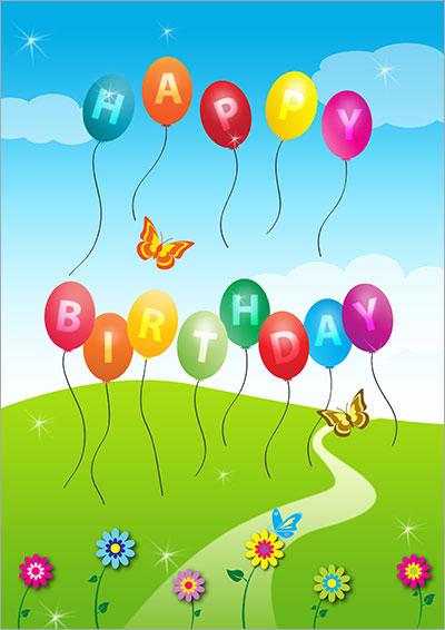 Birthday Baloons 009