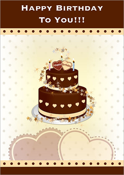 Chocolate Happy Birthday 019