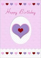 Loving Birthday Wish Card 021