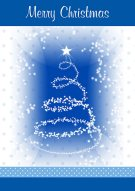 Frosty Christmas Printable Card 005