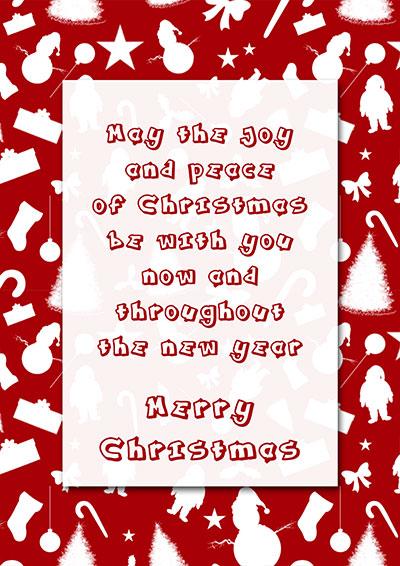 A Nice Christmas Wish  Card 019