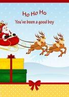 You've Been A Good Boy Card 022