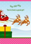 You've Been A Good Girl Card 023