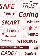 My Dad is... Father's Day Card 003