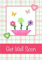 Flowers & butterflies get well 001