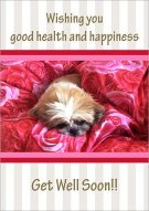 Good health & happiness Card 003
