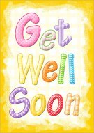 Luscious image in get well card printable