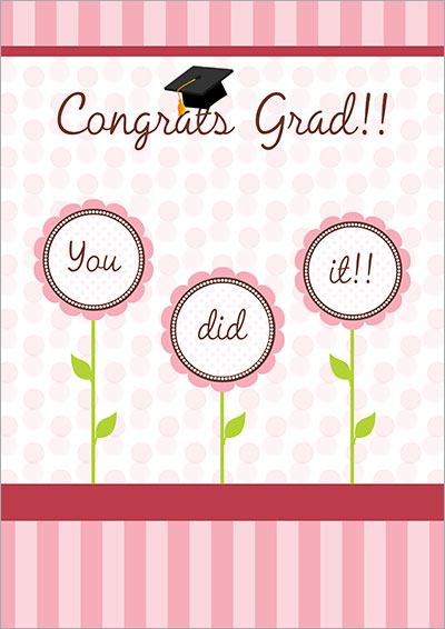 Congrats Grad!! Printable card 007