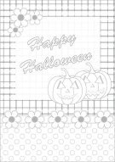 Happy Halloween Color Card 001