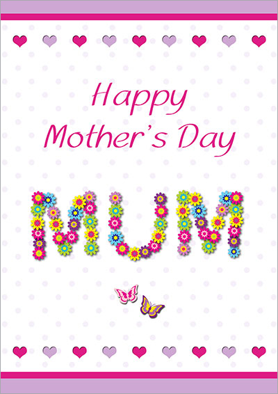 Floral Mother's Day MUM Card 002
