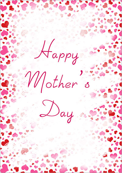 Happy Mother's Day Hearts 014