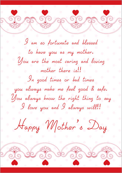 HAppy Mother's Day Wish Card 023