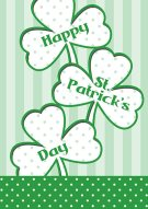 St. Patrick's Day Cards 001