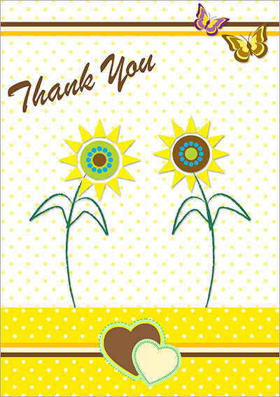 Free Printable Thank You Cards 002