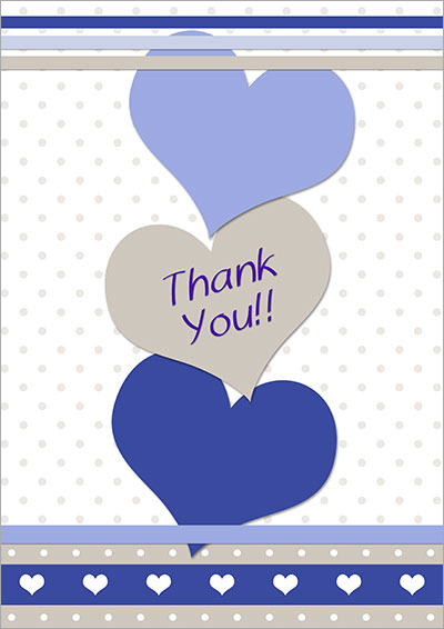 Free Printable Thank You Cards 007