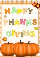 Happy Thanksgiving Card 002