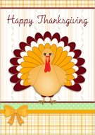 Joyous Thanksgiving Card 008