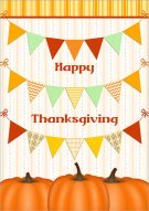 Thanksgiving Banners Card 009