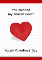 You Mended My Broken Heart Card 007