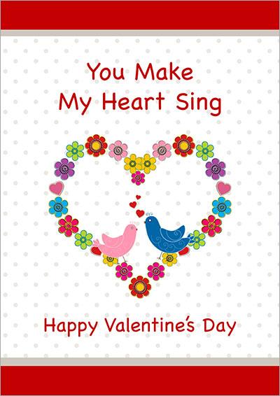 You Make My Heart Sing Card 012