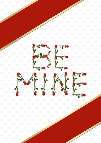 Be Mine Valentine's Day Roses 020