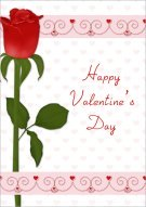 Lovey Dovey Valentine's Day Card 026