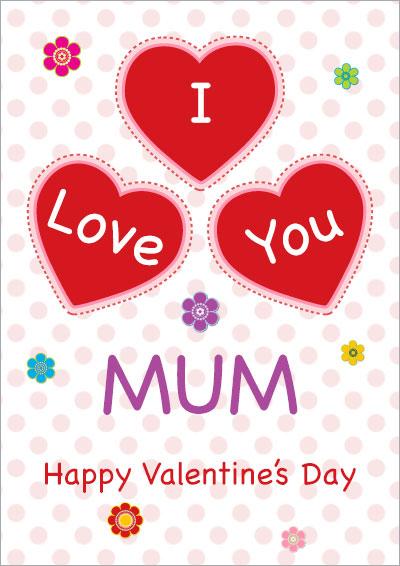 I Love You Mum Hearts 029