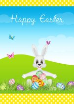 graphic relating to Free Printable Easter Cards named Printable Easter Playing cards