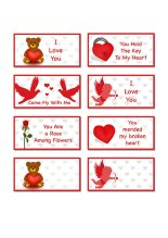 FREE Printable Valentine's Day Note Cards